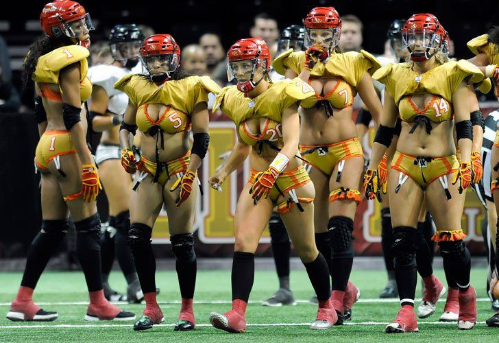 Lingerie Football League, para no perdérsela