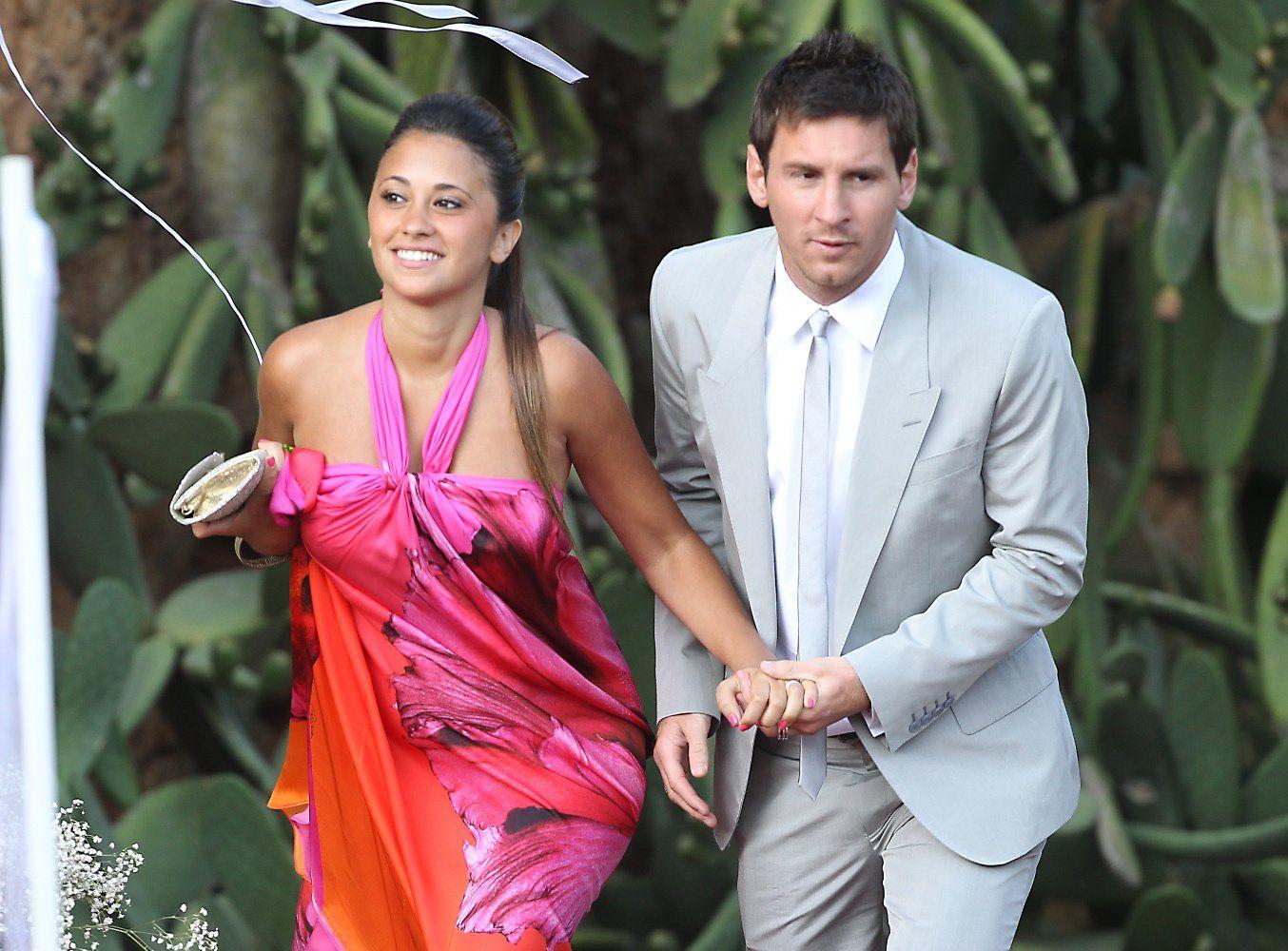 Lionel Messi y Antonella Roccuzzo