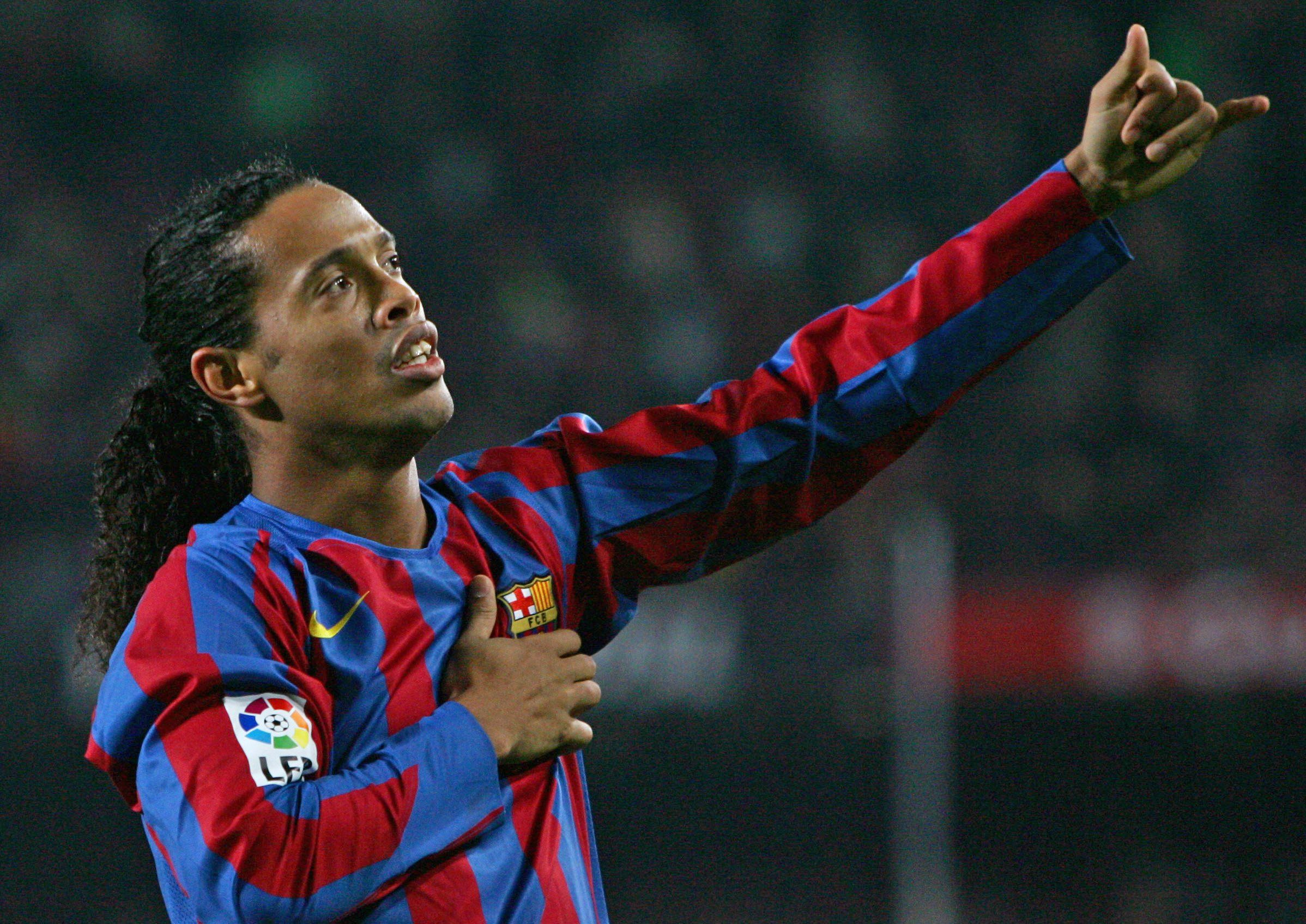 Peinado de Ronaldinho