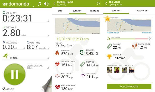 Endomondo Sports