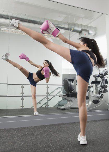 Kick Boxing para mujeres