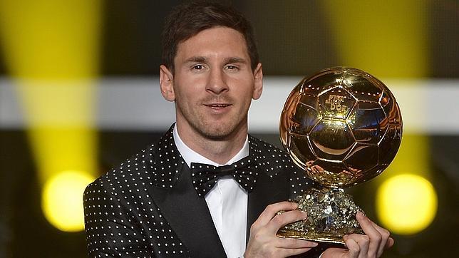 El 4º balón de oro de Messi