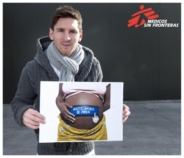 Leo Messi Solidario