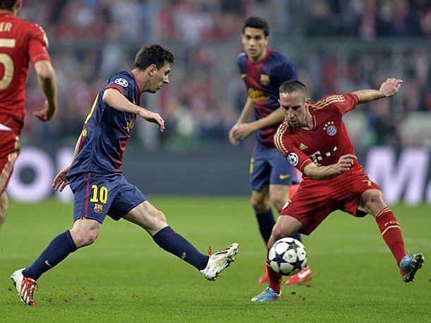Barça Bayern Champions 2013