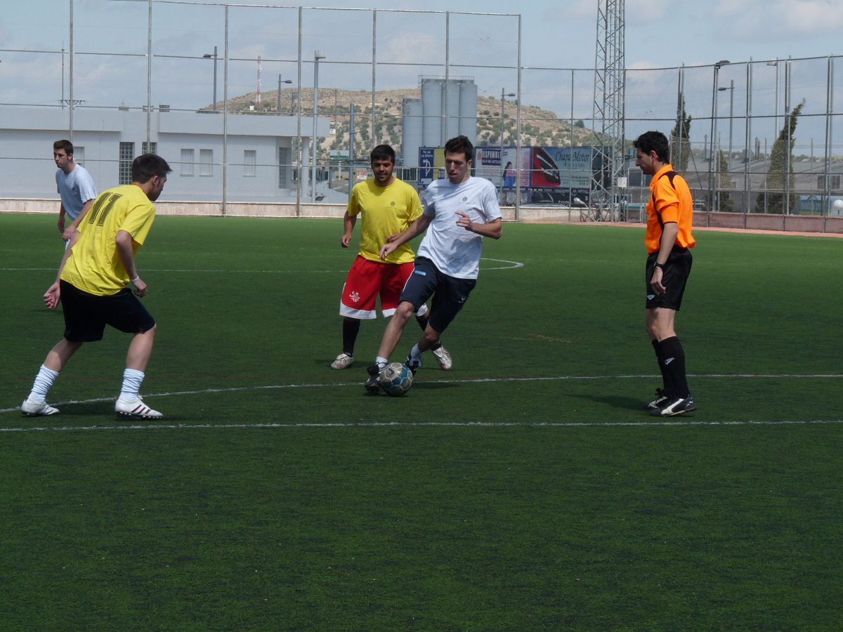 Tácticas en el Futbol 7