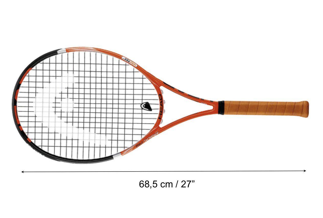 Longitud Raqueta de Tenis