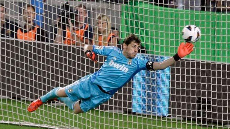 Paradón de Iker Casillas