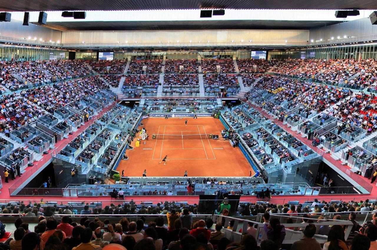 Caja Mágica Tenis Madrid