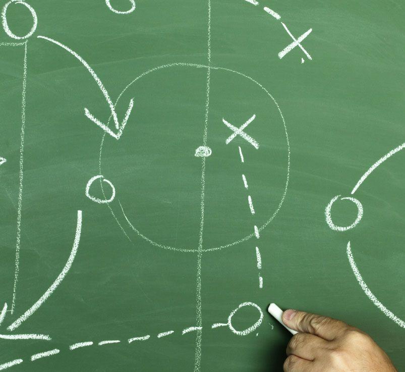 estrategia pizarra futbol sala