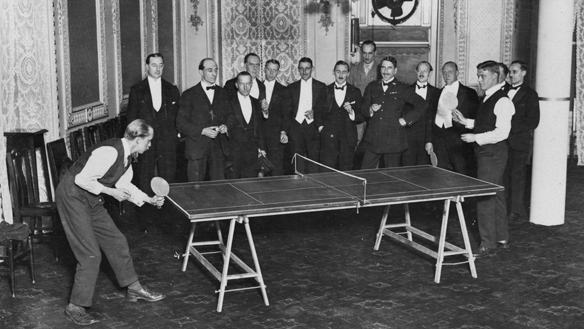 Historia tenis mesa